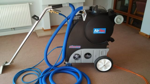 State-of-the-art cleaning equipment