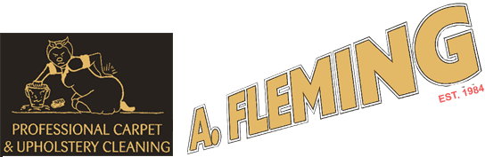 A Fleming Carpet & Upholstery logo