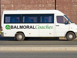 Balmoral minibus