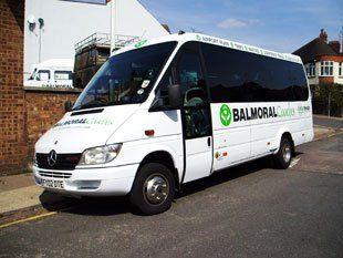Wedding transfer minibus
