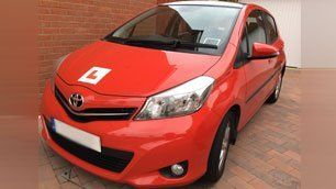 Learner car red