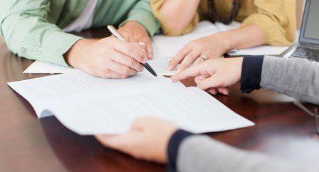 financial advice team