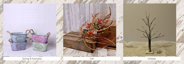 Wholesale Home Décor Floral, Signs, Lighting, Wreaths - For