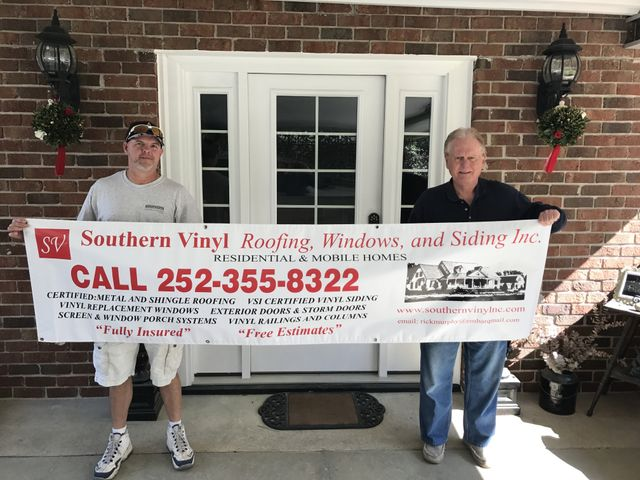 Southern Vinyl Roofing Window Amp Siding Inc Home