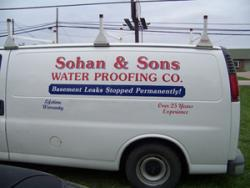 A man examines plans in an empty living room in Cincinnati, OH - get expert basement leak repair from Sohan and Sons