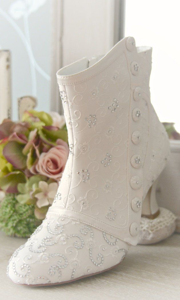 wedding boot designed by Anara Jewellery card