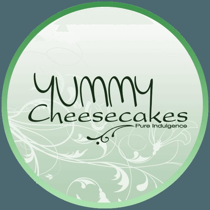 yummy cheesecakes  logo