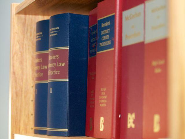 Legal books regarding bankruptcy and liquidation