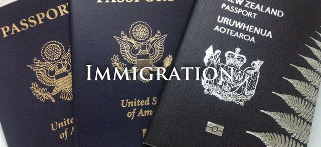 Passports used for immigration legal services