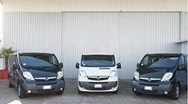 3 furgoni Opel