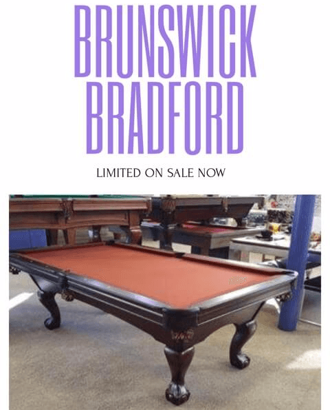 Brunswick Bradford Pool Table