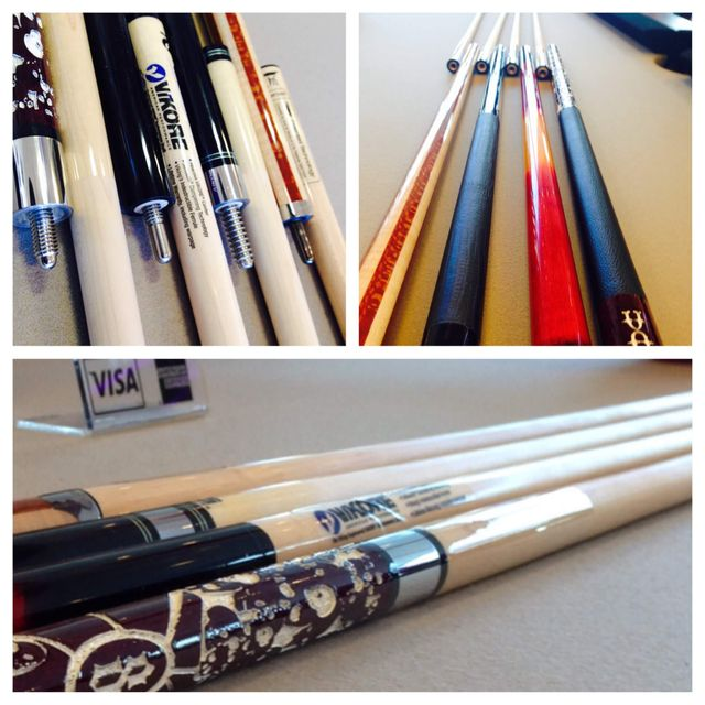 Denver's best selection of new pool cues at Best Quality Billiards