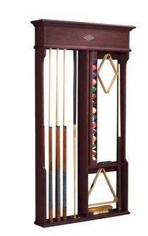 Pool Cue Wall Rack at BQB