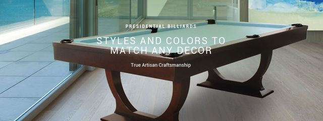 Presidential Billiards Pool Tables Available At Best Quality - Masterpiece pool table