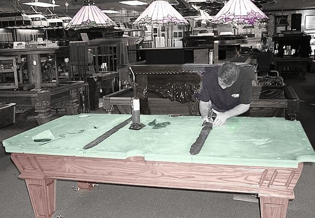Pool Table Recover Pool Cue Service Table Move Cloth Recover - Can you move a pool table without taking it apart