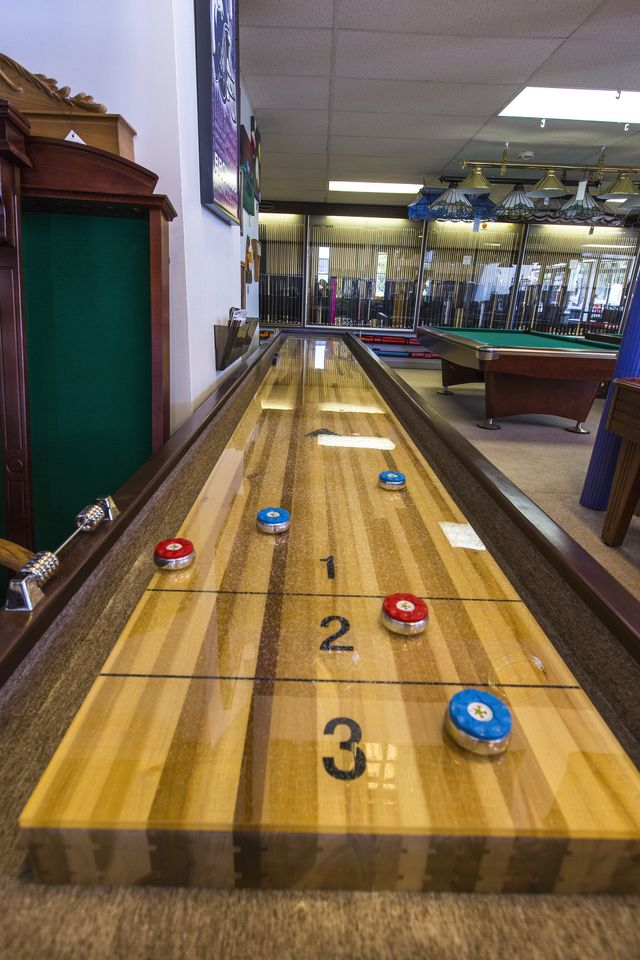 Shuffleboard Tables and Accessories at Best Quality Billiards