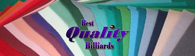Pool Table Cloth Selection at Best Quality Billiards