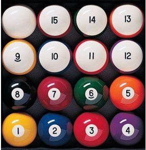 pool balls and billiard supplies
