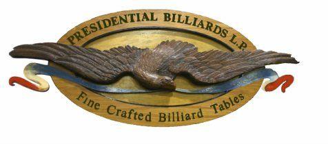 Presidential Billiards Pool Table Logo