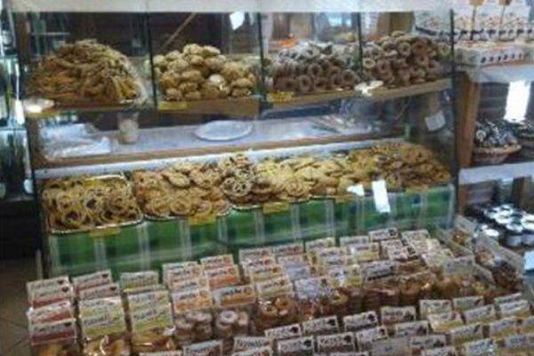 prodotti alimentari in esposizione