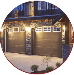 illuminated garage door