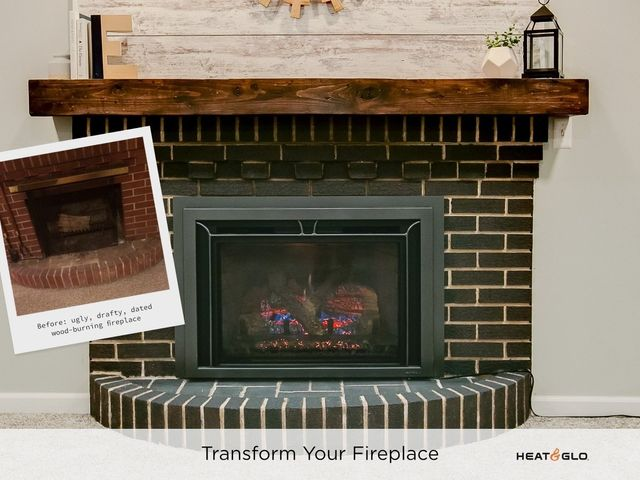 Pleasing Gas Fireplace Inserts Interior Design Ideas Clesiryabchikinfo