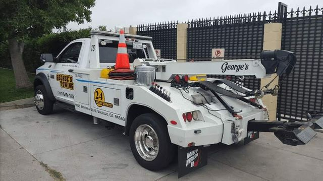 Towing Services - Vallejo, CA - George's Towing Co