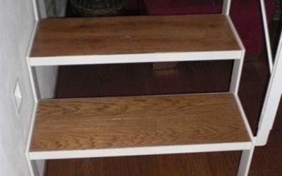 Bruzzese parquet in legno Siena | Rivestimento scale in