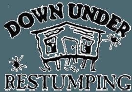 down under restumping logo