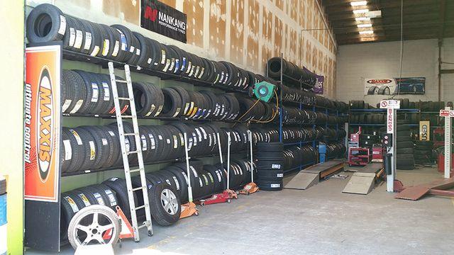 new set of car tyre of floor