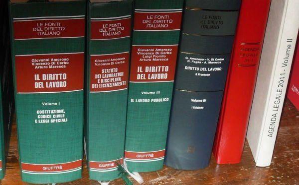 Dei libri di diritto del lavoro