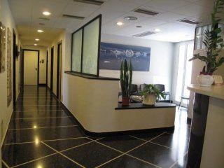 reception del centro di agopuntura