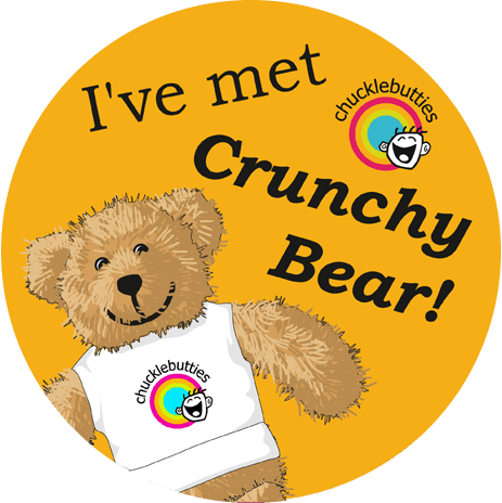 Crunchy bear at chucklebutties in Belper, DE