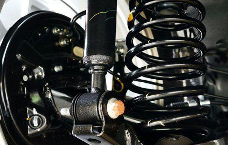 suspension for repair