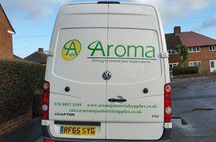 Aroma company van