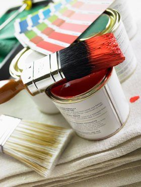 Painters and decorators - Glasgow - J & R Anderson Painters Ltd - Brush