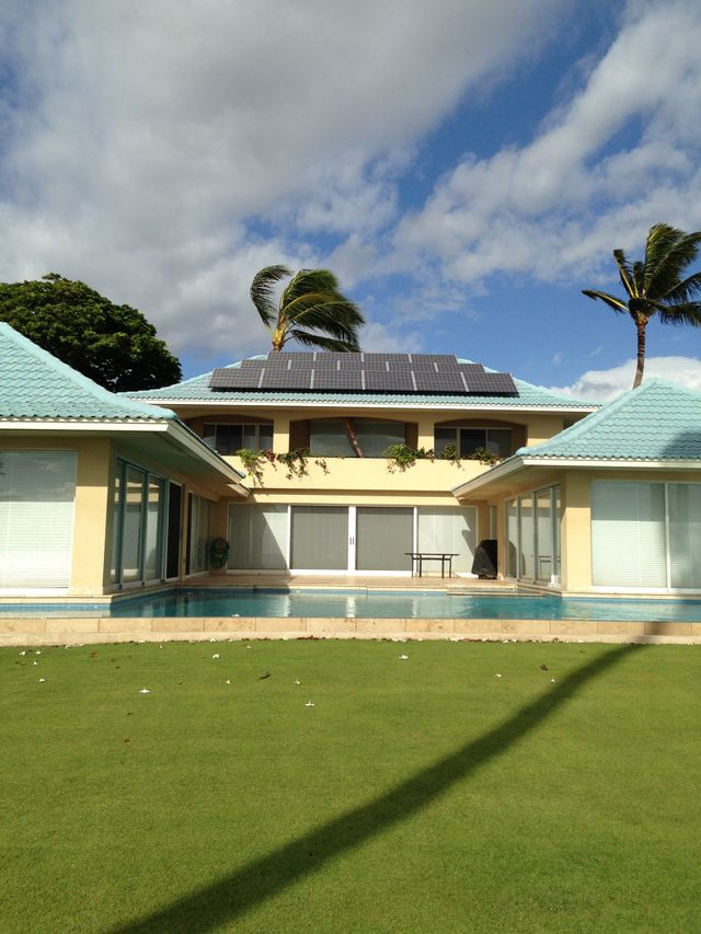 Solar electric system for homes