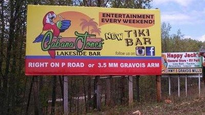 lake of the ozarks billboards