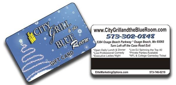 Gift Card design printing company