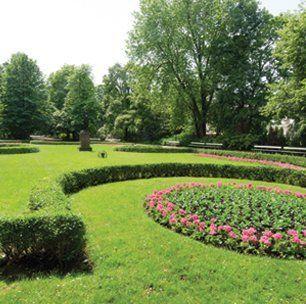 Soft landscaping work