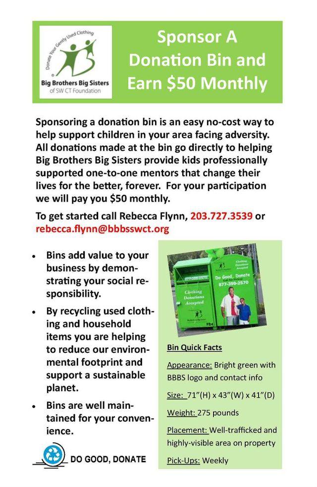 donate clothes Ansonia, CT