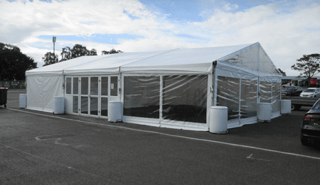 Hire a marquee for corporate events