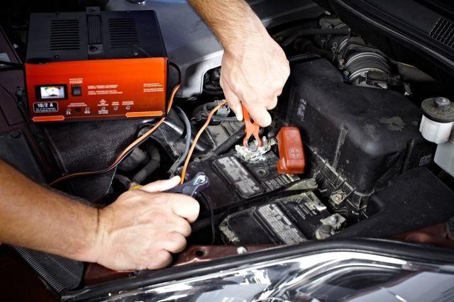 Controllo batteria di una macchina