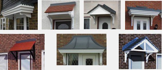 G R P Canopies/Door Surrounds and Mouldings at Francis Sheet
