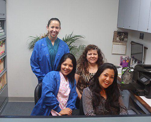 The happy staff of Aloha Dental Center