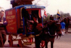 French polishing - Town Parks, Belfast - The Antique Workshop - Horse cart