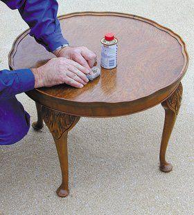 Antique restoration - Queen's Island, Belfast - The Antique Workshop - French polishing