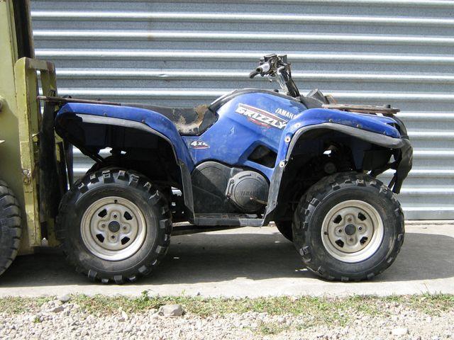 2009 Yamaha YFM700 Grizzly 4x4