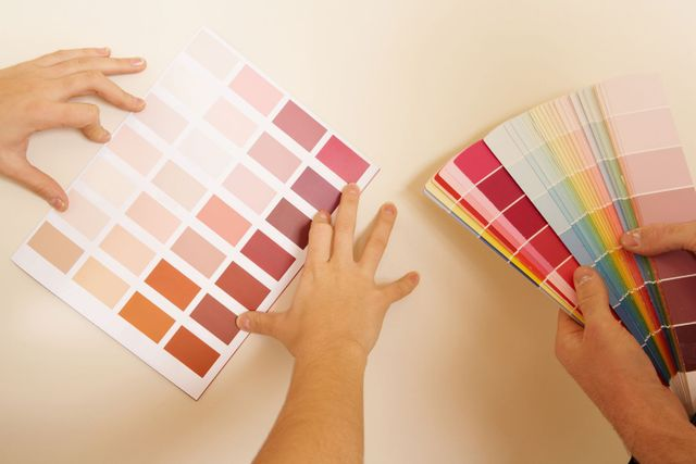 Choosing paint colours