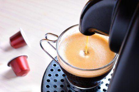 Macchina da caffè,caffè e capsule